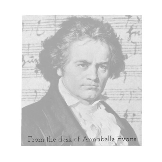 Beethoven Notepad