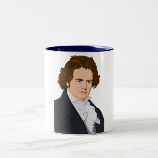 beethoven pop art mug