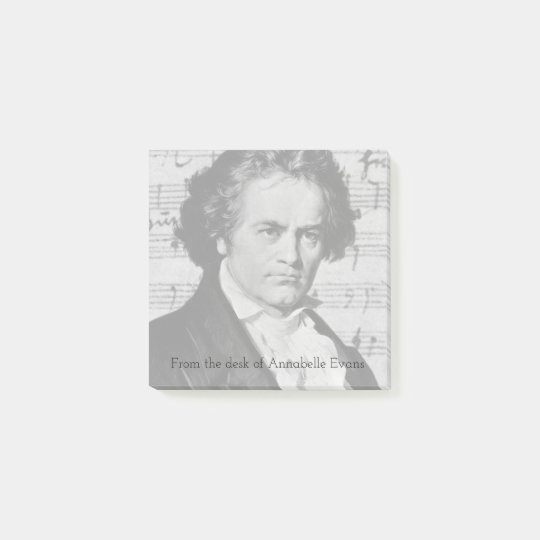 Beethoven Post-it Notes