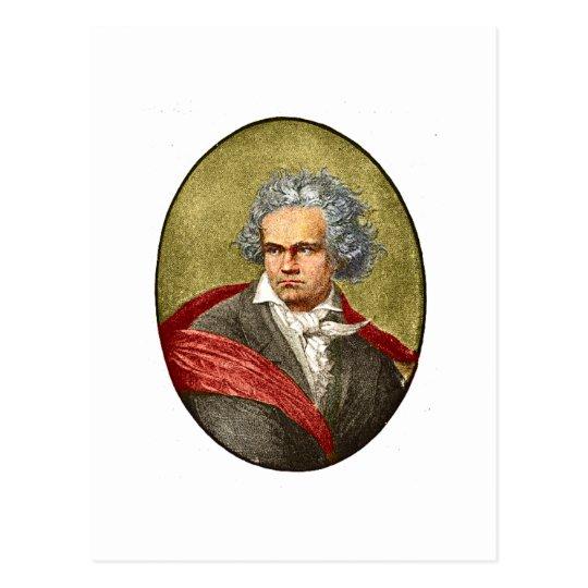 Beethoven Postcard