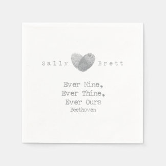 Beethoven Quote Napkin Disposable Serviettes