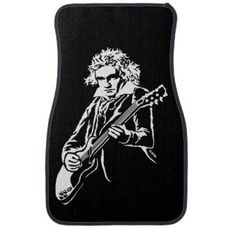 Beethoven Rock! Car Mat