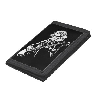 Beethoven Rock! Trifold Wallets