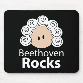 Beethoven Rocks Mouse Pad