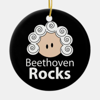 Beethoven Rocks Ornament