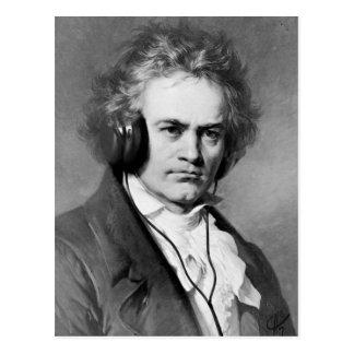 Beethoven Rocks Postcards