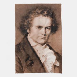 Beethoven Tea Towel