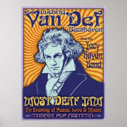 Beethoven - Van Def Poster