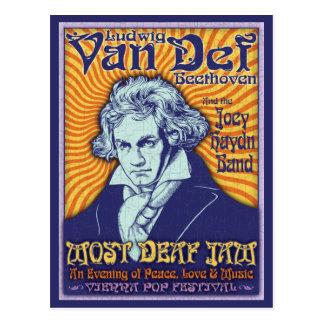Beethoven - Von Def Postcard