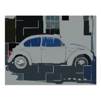 Beetle Puzzle Postcard