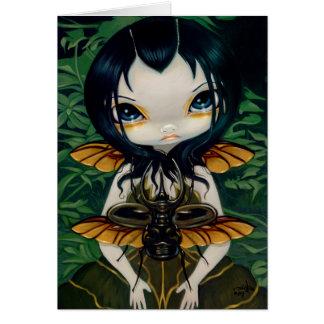 """""""Beetle Wings"""" Greeting Card"""