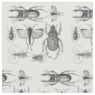 Beetles and Bugs Fabric