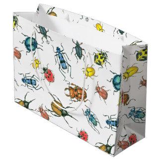 Beetles Large Gift Bag