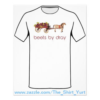 Beets by Horse Drawn Dray 11.5 Cm X 14 Cm Flyer