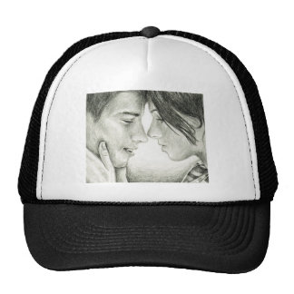 Before 1st Kiss Trucker Hats