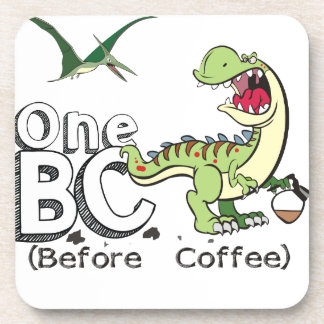 Before Coffee Coaster