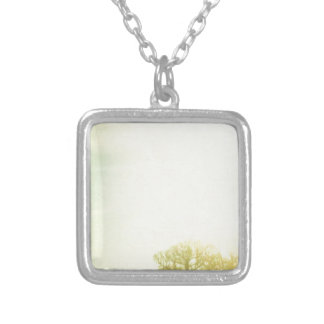 Before Sunrise Silver Plated Necklace