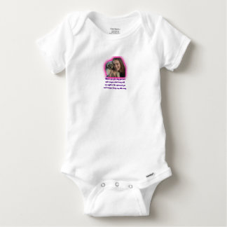 Before you get a dog baby onesie