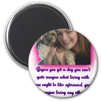Before you get a dog magnet