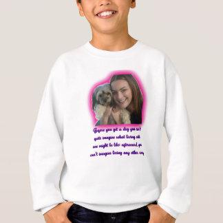 Before you get a dog sweatshirt