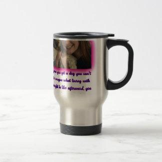 Before you get a dog travel mug