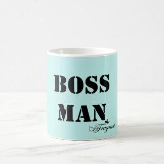 beFragrant Classic White Mug Boss Man