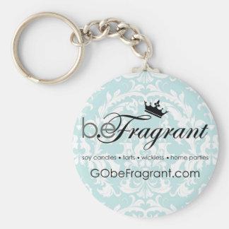 beFragrant Damask Key Chain