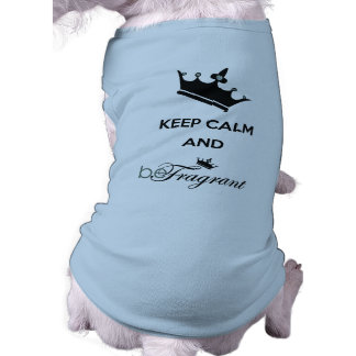 beFragrant Doggie Ribbed Tank Top Sleeveless Dog Shirt