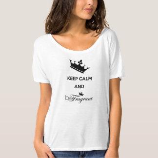 beFragrant Women's Bella Flowy Simple T-Shirt