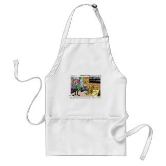 Begging 4 Web Design Funny Gifts & Collectibles Standard Apron