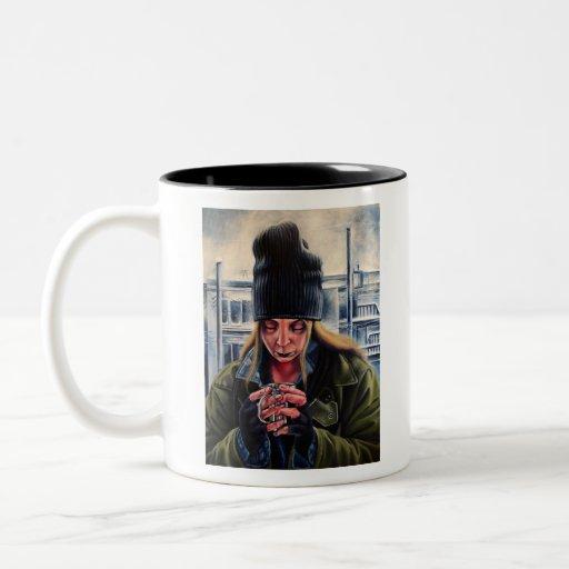 Begging Coffee Mugs