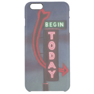 Begin Today 2009 Clear iPhone 6 Plus Case