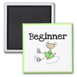 Beginner Ice Skater Tshirts and Gifts Magnets