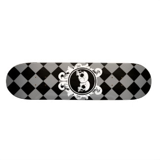Begird Ebony (Grey) Skateboard Deck