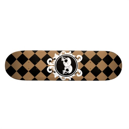 Begird Ebony (Tan) Skateboard Deck