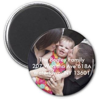 Begley Family 6 Cm Round Magnet