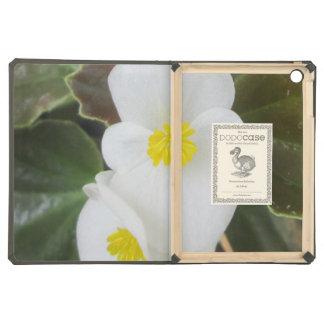Begonia Garden Flower White Case For iPad Air