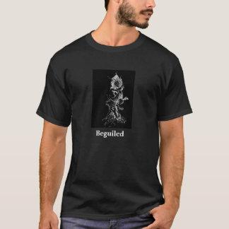 Beguiled White on Black Tshirt