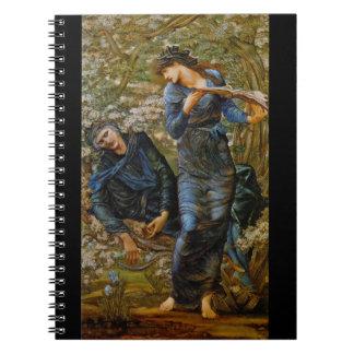 Beguiling Merlin 1873 Notebooks