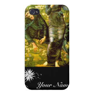 Beguiling of Merlin ~ Burne-Jones 1874 Painting iPhone 4/4S Cases