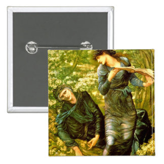 Beguiling of Merlin Burne-Jones 1874 Painting Pin
