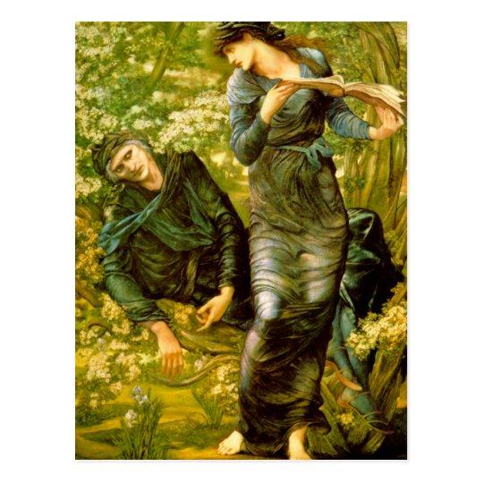 Beguiling of Merlin - Edward Burne-Jones Postcard
