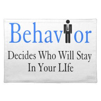 Behavior Placemat