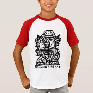 """""""Behavior Rehab"""" Boys' Short Sleeve Raglan T-Shirt"""