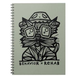 Behavior Rehab BuddaKats 80 Page Notebook