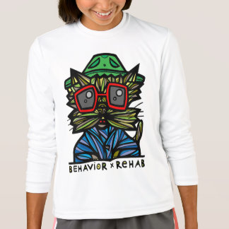 """Behavior Rehab"" Girls' Sport T-Shirt"