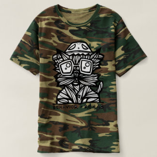 """Behavior Rehab"" Men's Camouflage T-Shirt"