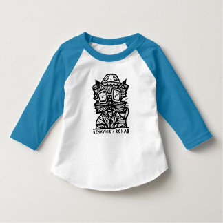 """Behavior Rehab"" Toddler Raglan T-Shirt"