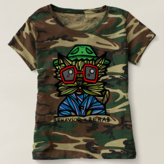 """Behavior Rehab"" Women's Camouflage T-Shirt"