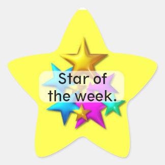 Behaviour Reward star sticker